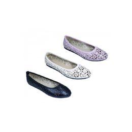 18 Units of Women's Ballerina Shoes - Women's Flats
