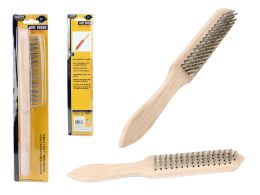 72 Units of Wire Brush With Handle - Kitchen Utensils