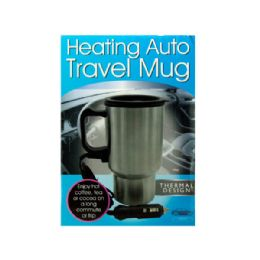 6 Units of Heating Auto Travel Mug - Coffee Mugs