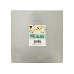 72 Units of Square Cake Board - Baking Supplies