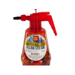 12 Units of Water Balloon Filling Station With Balloons - Balloons & Balloon Holder