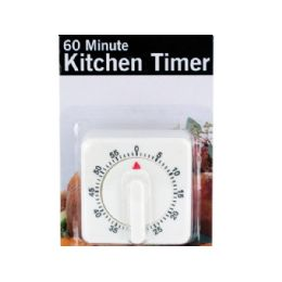 18 Units of 60 Minute Manual Dial Kitchen Timer - Kitchen Gadgets & Tools