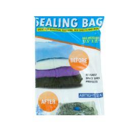 36 Units of Vacuum Seal Storage Bag - Storage Holders and Organizers
