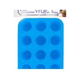 24 Units of Silicone Mini Muffin Tray - Baking Supplies