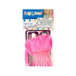 144 Units of Springfield Hot Pink Doll Hair Extension - Hair Accessories