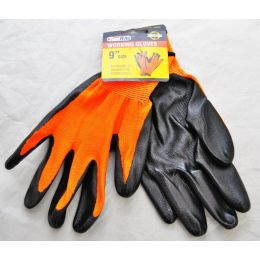 240 Units of Nitrile Working Glove - Carded - Working Gloves