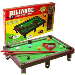 60 Units of TABLE TOP BILLIARDS GAME - Dominoes & Chess