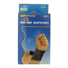 144 Units of 2pc Wrist Support Wrap - Bandages and Support Wraps