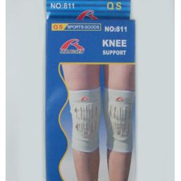 72 Units of 1 Pair White Knee Support - Bandages and Support Wraps