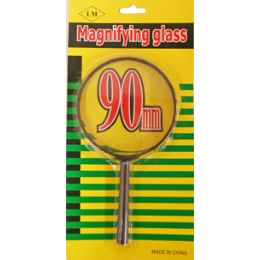 120 Units of 90mm Magnifying Glass - Magnifying  Glasses