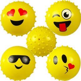 192 Units of Emoji Knobby Balls - Balls