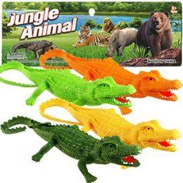 60 Units of 4 Piece Vinyl Alligator Sets. - Animals & Reptiles