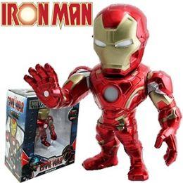 8 Units of Die Cast Marvel's Iron Man Figurines - Action Figures & Robots