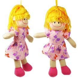 96 Units of SOFT RAG DOLLS - Dolls