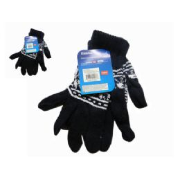 288 Units of Men's Gloves - Knitted Stretch Gloves