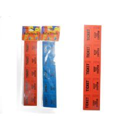 96 Units of 200pc Raffle Tickets - Party Novelties