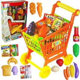 12 Units of 16 Piece Shopping Cart Play Sets - Toy Sets