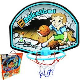 12 Units of Indoor Basketball Hoop. - Balls