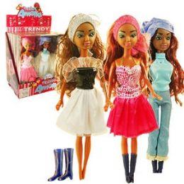 72 Units of ETHNIC AMELIA TRENDY DOLLS. - Dolls