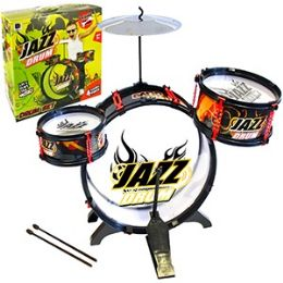 4 Units of 4 Piece Jazz Drum Kits - Musical