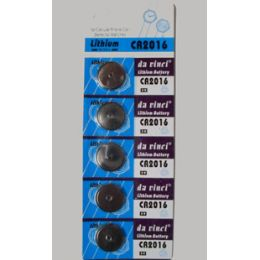 40 Units of Cr2016 Batteries(5 Pc.) - Batteries