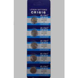 40 Units of Cr1616 Batteries (5 Pc.) - Batteries