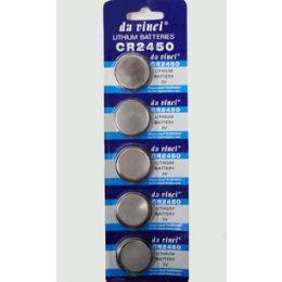 40 Units of Cr2450 Batteries(5 Pc.) - Batteries