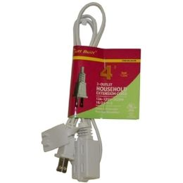 75 Units of 4FT EXTENSION CORD UL - Electrical