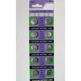 40 Units of Ag12 Batteries(10 Pc.) - Batteries