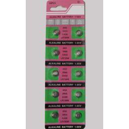40 Units of Ag2 Batteries (10 Pc.) - Batteries