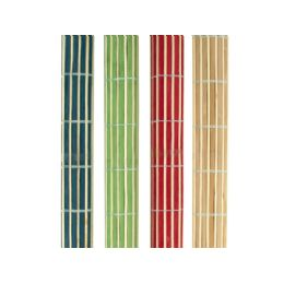 12 Units of Roll-Up Bamboo Placemats Set - Placemats
