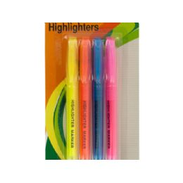 54 Units of QuicK-Drying Chisel Tip Highlighters Set - Markers and Highlighters