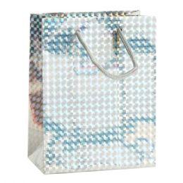 144 Units of Jumbo Holographic Gift Bag - Gift Bags Assorted