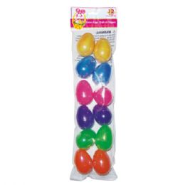 "96 Units of 2.5"" 12pc easter eggs - Easter"