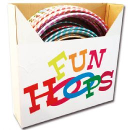 120 Units of Fun Hoops - Summer Toys