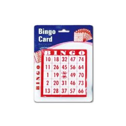 96 Units of Bingo Card - Card Games