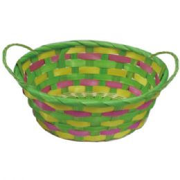 96 Units of Oval Basket - Easter