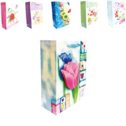 "144 Units of 3D Gift bag 7x3.5x9.5""/M"