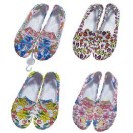 36 Units of Teenager's Garden Shoes - Women's Flip Flops