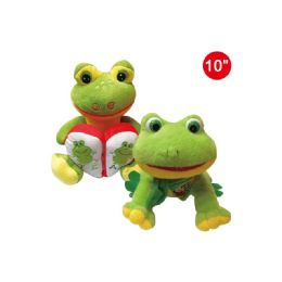24 Units of Ten Inch Frog Mixed Designs - Valentine Decorations