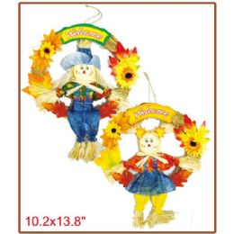 "96 Units of 10x14""harvest scarecrow - Halloween & Thanksgiving"