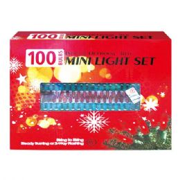 24 Units of 100L red light tray UL - Christmas Decorations