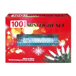 24 Units of 100L clear light tray UL - Christmas Decorations