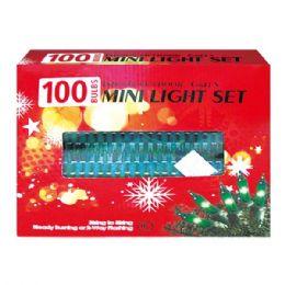 24 Units of 100L green light tray UL - Christmas Decorations