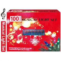 24 Units of 100L musical multi UL - Christmas Decorations