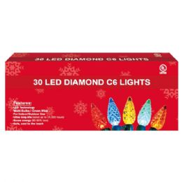 24 Units of 30L LED light multi UL - Christmas Decorations
