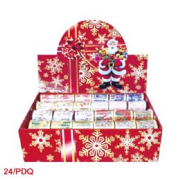 144 Units of X'mas gift ribbon - Christmas Gift Bags and Boxes