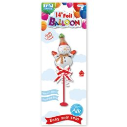 96 Units of Xmas Foil Balloon - Christmas Decorations
