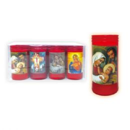 192 Units of LED religious candle - Candles & Accessories
