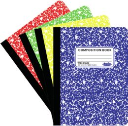 48 Units of Composition Book 100 Sheet Neon - Notebooks